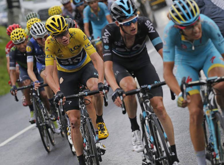Tour de France: Chris Froome wygrywa po raz trzeci, Rafał Majka najlepszym góralem