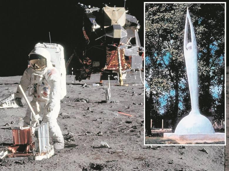 Pierwszy pomnik upamiętniający Apollo 11 i Neila Armstronga powstał w Krakowie. I wywołał kontrowersje [ZDJĘCIA ARCHIWALNE]