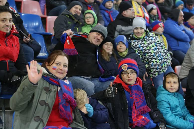 Tak było na trybunach podczas meczu Piasta Gliwice z Jagiellonią Białystok. Zobaczcie zdjęcia kibiców!