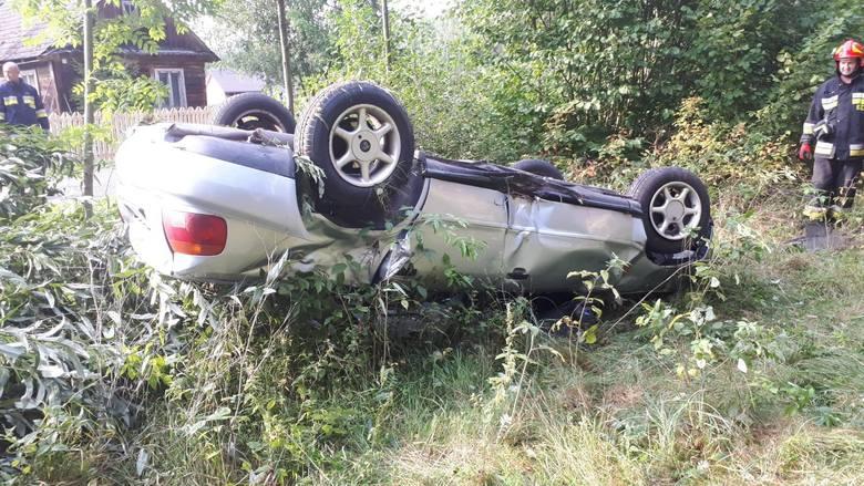 13 sierpnia 2019 roku w miejscowości Zabrody gm. Narewka doszło do wypadku pojazdu osobowego.