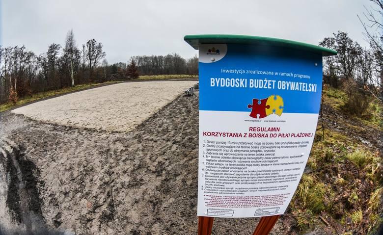Zdaniem wielu najbardziej absurdalna inwestycja w BBO boisko do piłki plażowej  na Glinkach.