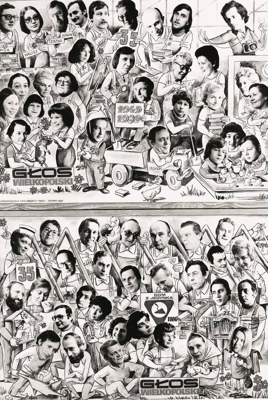 """Jubileuszowe wydanie """"Głosu"""" - rok 1980"""