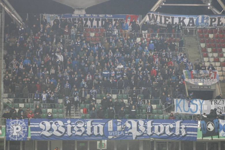 400 osób - mecz z Legią Warszawa (rekord) 140 - mecz z Lechią Gdańsk118 - mecz z Rakowem Częstochowa (Bełchatów) 100 - mecz z Koroną Kielce67 - mecz
