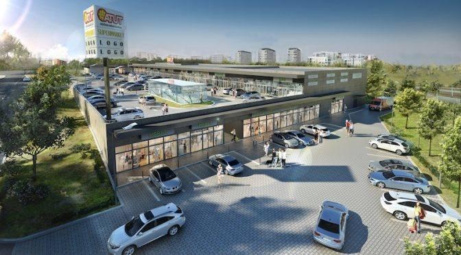 Otwarcie nowego centrum handlowego na Ruczaju [WIZUALIZACJA, GALERIA]
