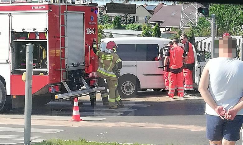 Do zdarzenia doszło dzisiaj, 18 czerwca, na białostockim osiedlu Dziesięciny, u zbiegu ulic Hallera i Dziesięciny.