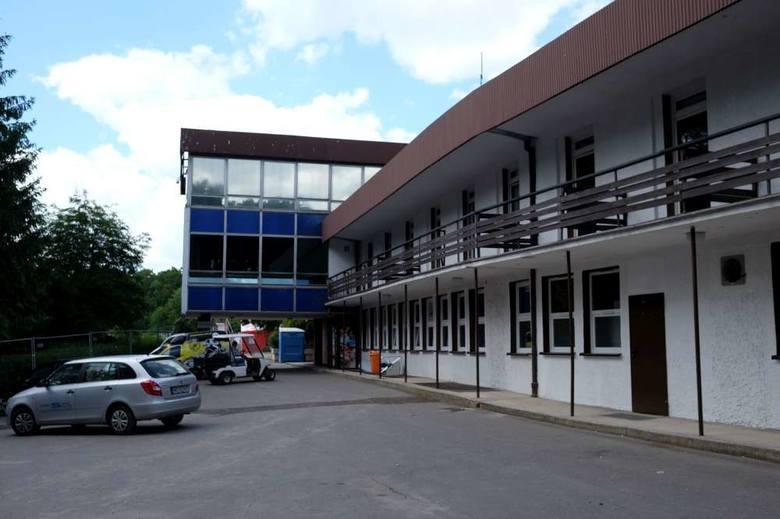 Ulica Warmińska ma służyć do obsługi technicznej hotelu Olimpia