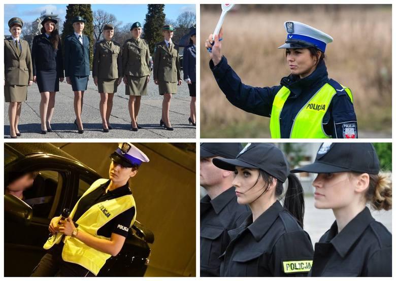 Zobaczcie zdjęcia pięknych policjantek pracujących w komendach w całym kraju. Są też nasze z podlaskiej policji.