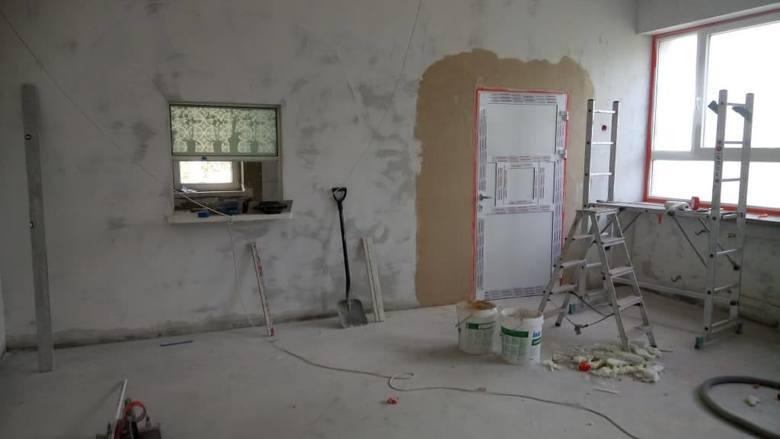 Trwa remont szkolnych stołówek w gminie Ostrów Mazowiecka