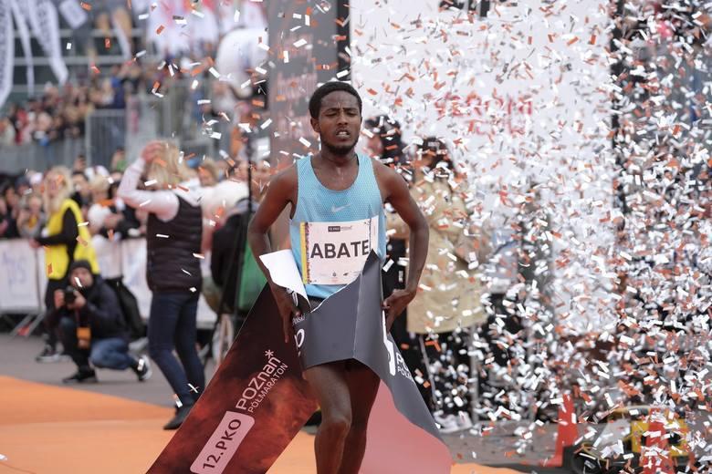 31-letni Etiopczyk Abate Misganow (1:02:29) i Kenijka Liliana Jelagat (1:11:12) okazali się najlepsi w 12. PKO Poznań Półmaraton. Drugie miejsce wśród