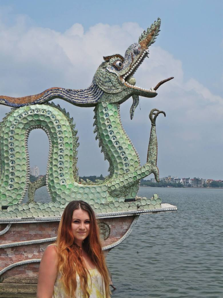 Ula Durzyńska rzuciła pracę w korporacji. Została nauczycielką w Hanoi
