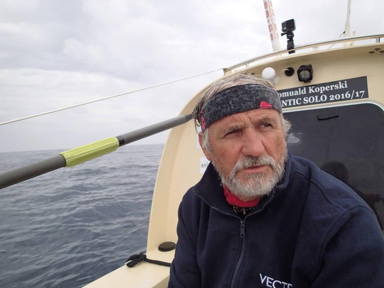 Koperski: To był mój trening przed rejsem przez Pacyfik
