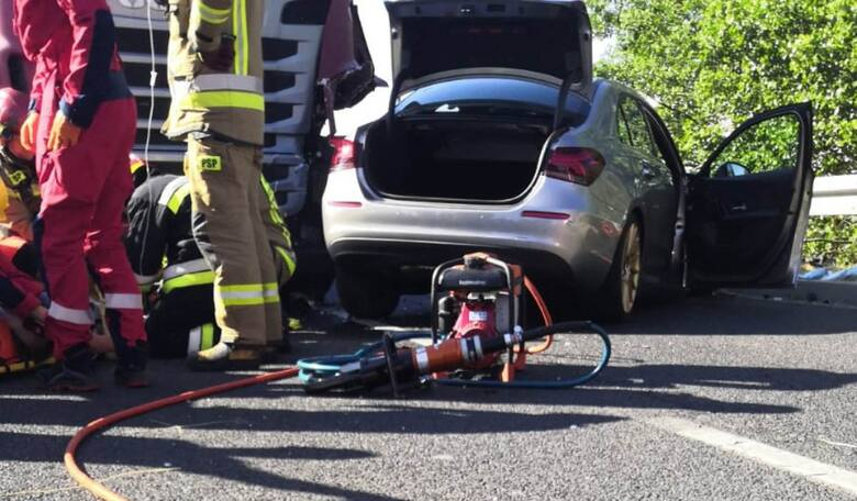 Groźny wypadek w Witnicy. Zderzyły się trzy auta