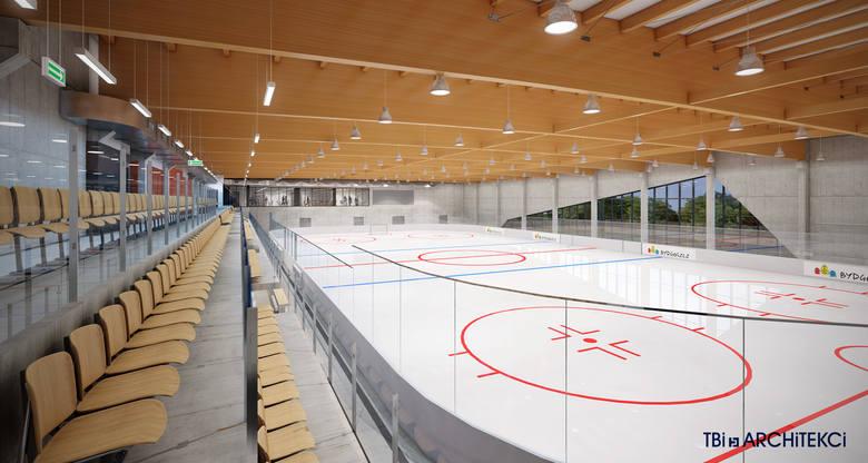 Tak od środka ma wyglądać nowoczesne lodowisko w mieście. Jego widownia pomieści maksymalnie 300 widzów.