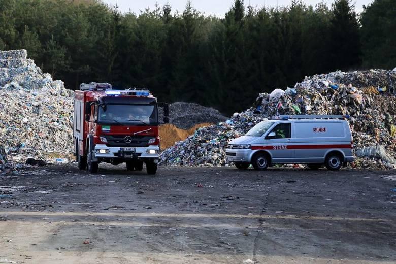 Składowisko odpadów w miejscowości Studzianki ostatni raz paliło się w lutym 2012 roku