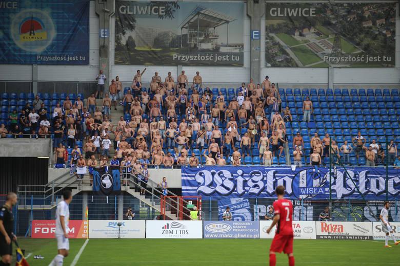 Kibice na meczu Piast Gliwice - Wisła Płock [GALERIA]