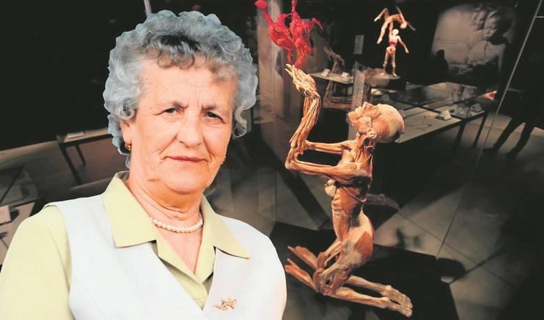 Ciało pani Berty (na zdjęciu) po śmierci trafiło do muzeum niemieckiego dr Gunthera von Hagensa