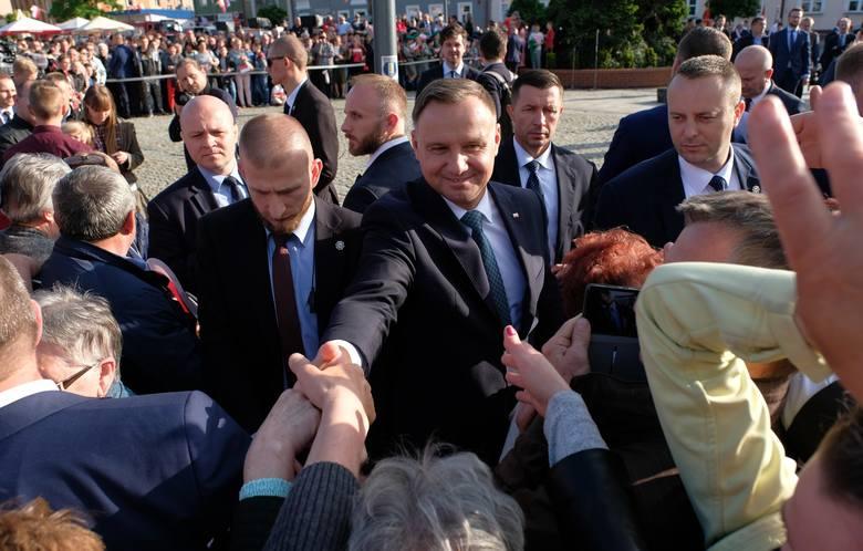 Prezydent RP Andrzej Duda odwiedziłw czwartek Lubaczów na Podkarpaciu. To odpowiedź na zaproszenie starosty lubaczowskiego, Zenona Swatka m.in. w związku