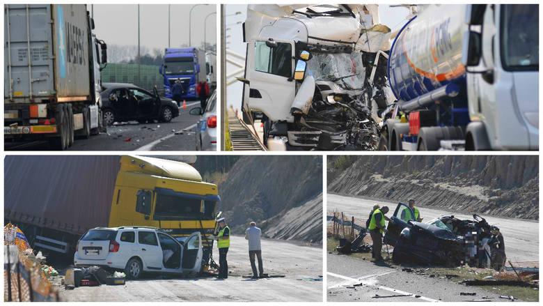 Na zaledwie 11-kilometrowym odcinku obwodnicy Gorzowa Wlkp. doszło w tym roku do siedmiu wypadków, w których zginęły cztery osoby, a 17 zostało rannych.Droga,
