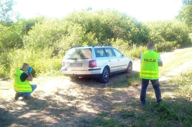 Policjanci szybko znaleźli sprawcę włamania do samochodu.