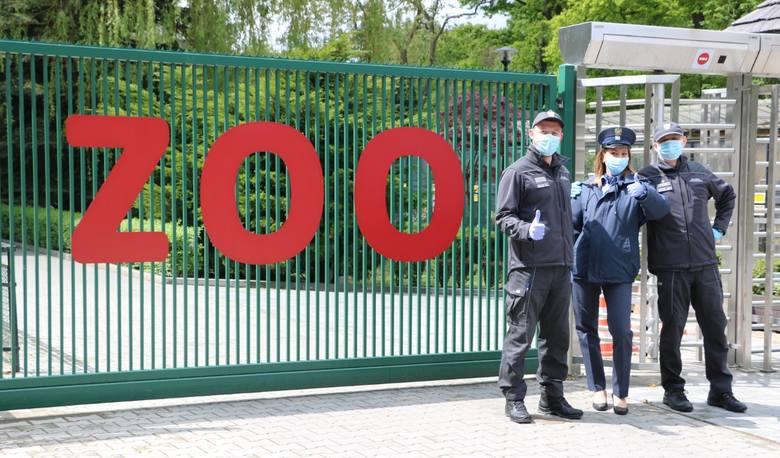Funkcjonariusze Aresztu Śledczego w Krakowie wspierają mieszkańców ogrodu zoologicznego
