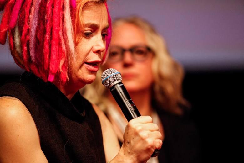 """Lana Wachowski (""""Matrix"""", """"Atlas chmur"""", """"V jak Vendetta"""") spotkała się z publicznością festiwalu Camerimage w czwartek (16 listopada). Razem z Johnem"""