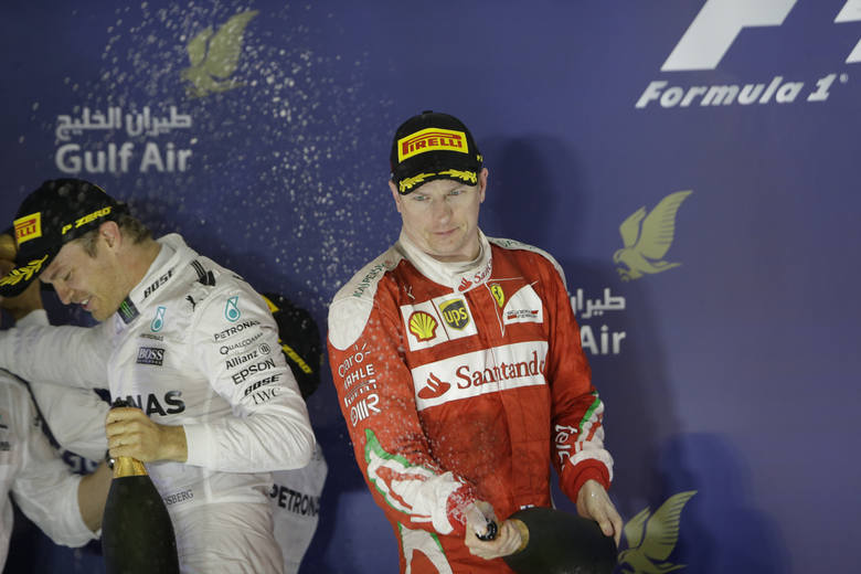 Na drugim miejscu stanął Kimi Raikkonen
