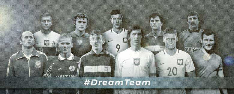 Dream Team - zobaczcie naszą polską piłkarską drużynę marzeń!