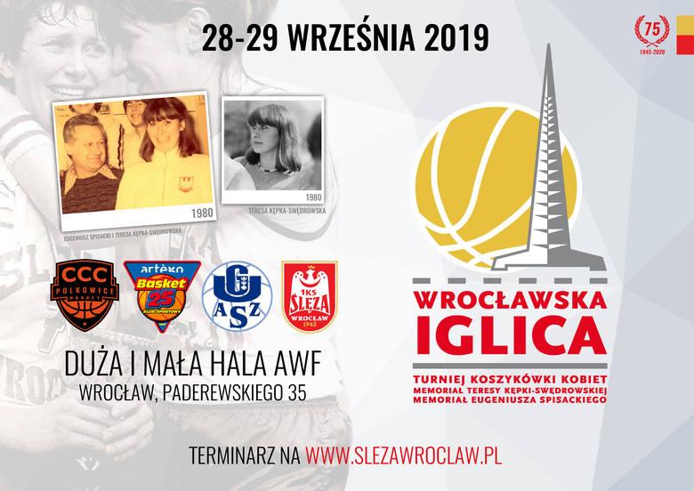 Ślęza Wrocław zaprasza na Wrocławską Iglicę. Na turnieju zagra też CCC Polkowice