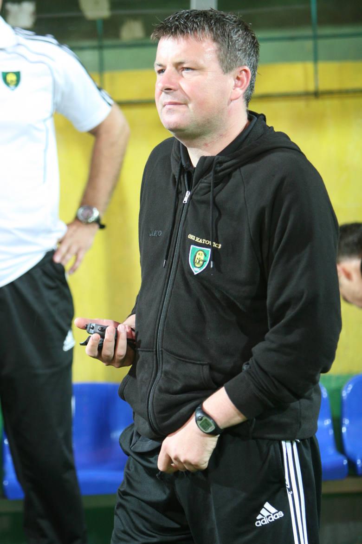 Sierpień 2011 – Rafał Górak prowadził GKS Katowice<br />