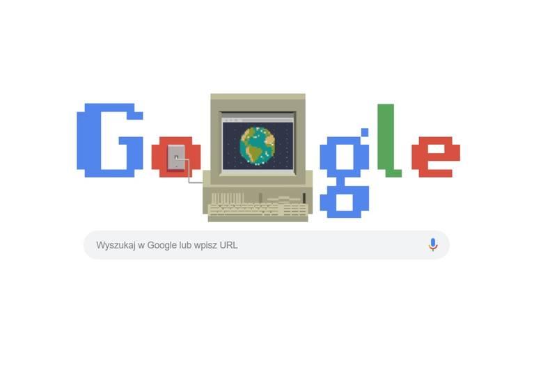 World Wide Web Google Doodle