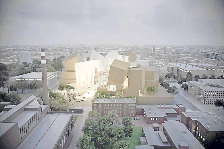 Tak miało być w Łodzi (Camerimage Łódź Center wg koncepcji Franka Gehry'ego