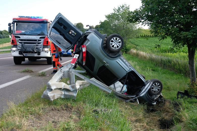 Do wypadku doszło we wtorek około godz. 18.30 na drodze krajowej nr 77 w Żurawicy pod Przemyślem.- Kierująca hondą, 54-letnia mieszkanka pow. rzeszowskiego