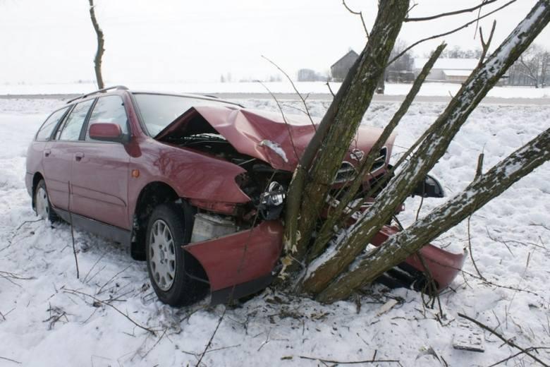 Sikory Bartyczki: Wypadek na ósemce (zdjęcia)