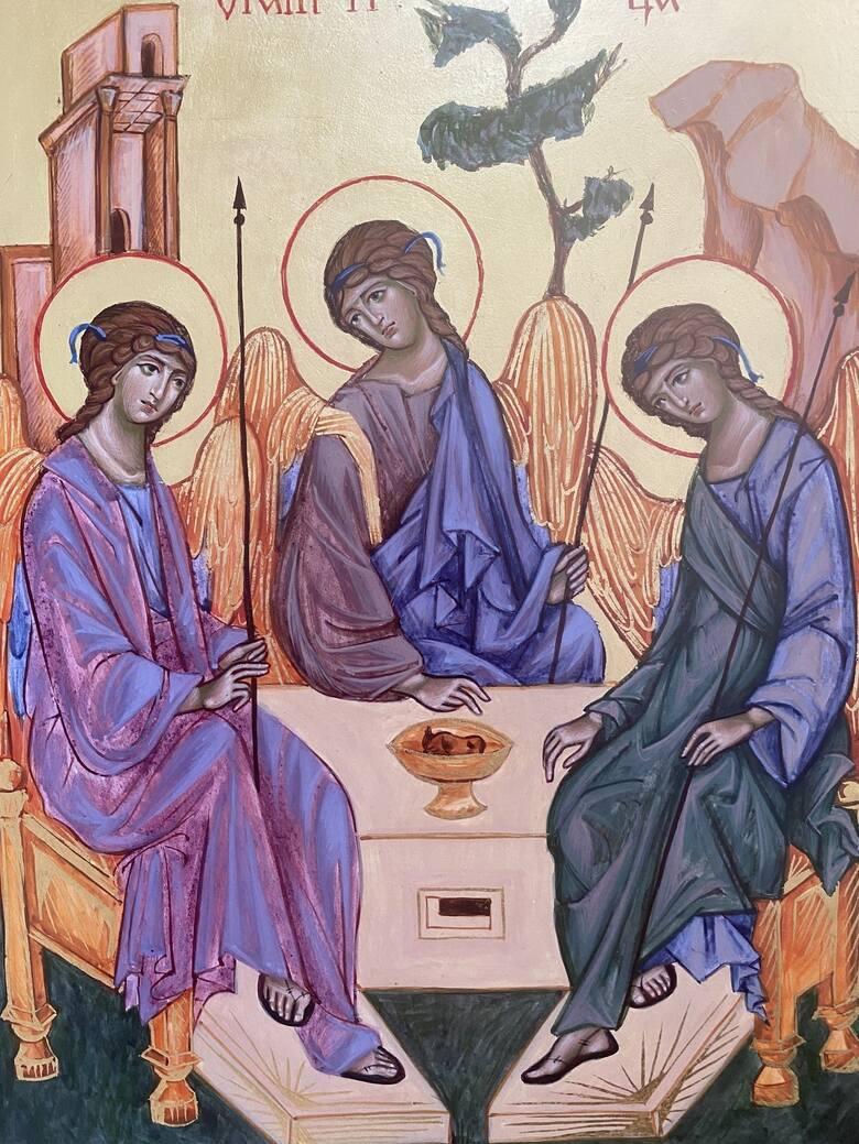 Obecność ikony w cerkwi, kościele czy w domu pomaga się wyciszyć, skupić spojrzenie na określonym wizerunku