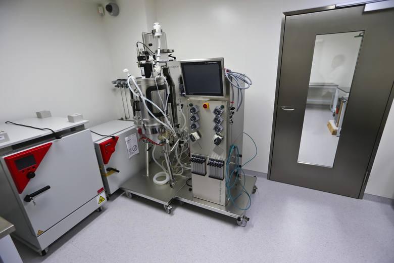 Laboratorium stoi dziś puste bo nie spełnia norm bezpieczeństwa. Jego naprawa ma kosztować 3,8 mln zł.