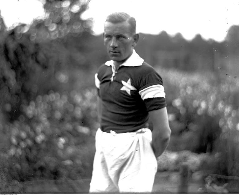 Legenda Wisły Kraków Henryk Reyman w 1926 roku.