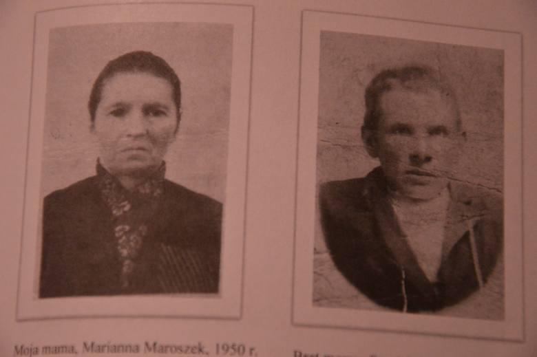 Marianna Maroszek, jej brat Stanisław, czyli mama i wuj Eugeniusza Maroszka