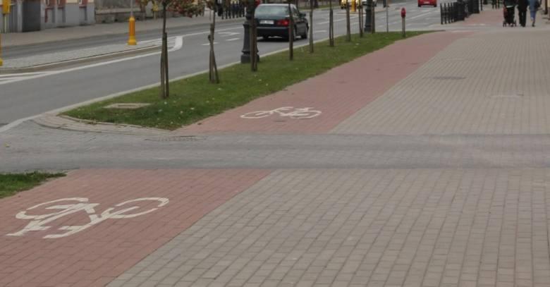 Ełk. Przebudowali chodnik i stworzyli ścieżkę rowerową za 1 mln zł