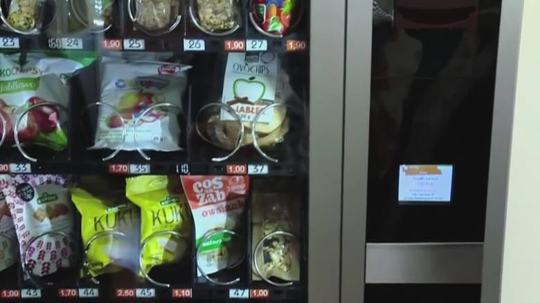 Projekt Zdrowe Kieszonkowe powstał w Białymstoku. Automaty mają zająć się dystrybucją żywności w szkołach