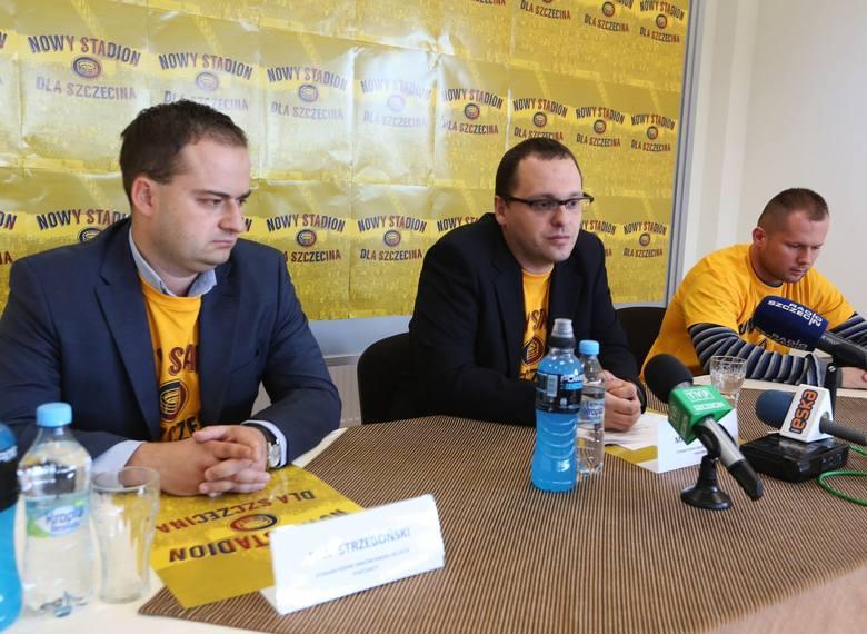 Przedstawiciele kibiców chcą zbierać podpisy pod projektem uchwały w sprawie stadionu.