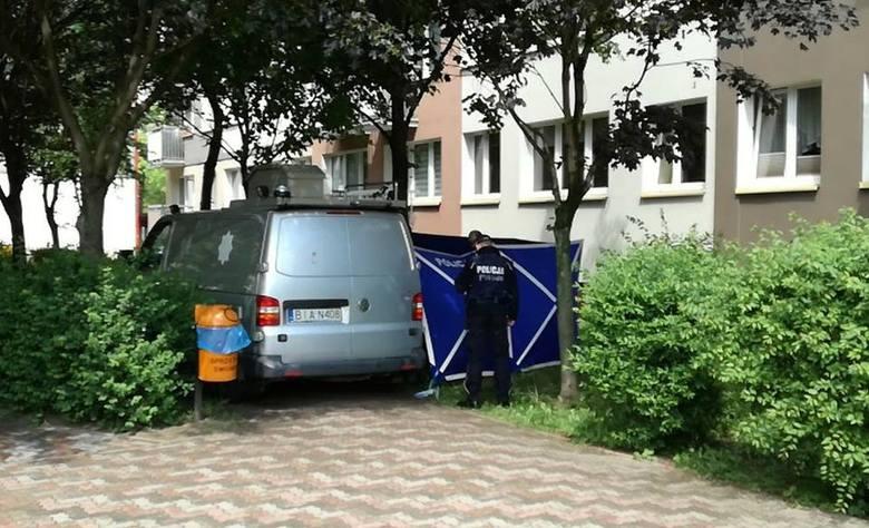 W piątek, przed godz. 12, przy ulicy św. Wojciech w Białymstoku doszło do makabrycznego zdarzenia