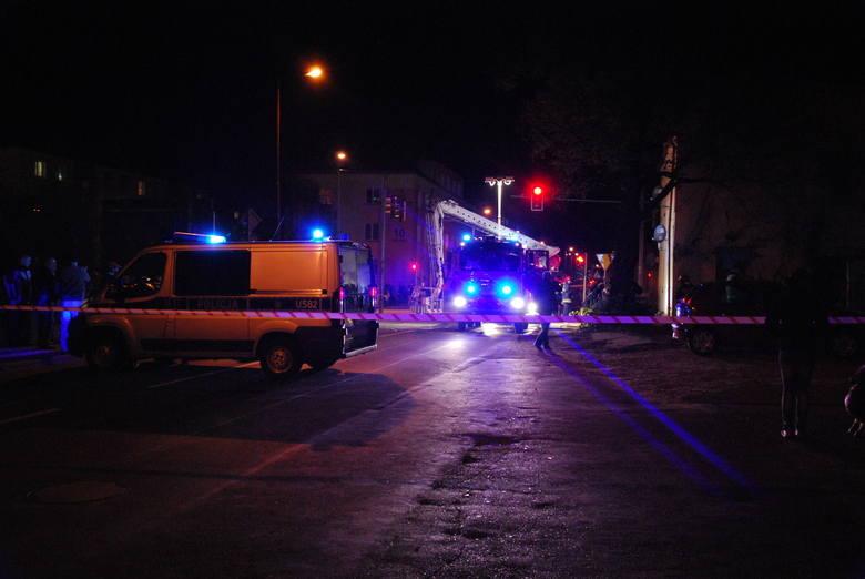 Oborniki: Wybuch butli z gazem w jednym z mieszkań