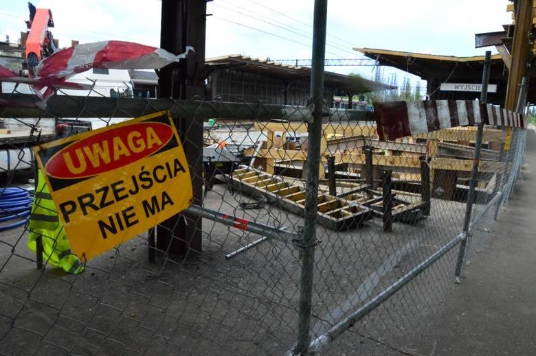 Na dworcu PKP w Koszalinie trwają prace remontowe. Spółka PKP Polskie Linie Kolejowe postanowiła zainwestować w budowę dwóch szybów oraz wind na koszalińskim