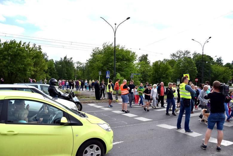 14 maja 2018 roku mieszkańcy Będzina zablokowali al. Kołłątaja, domagając się poprawy bezpieczeństwa