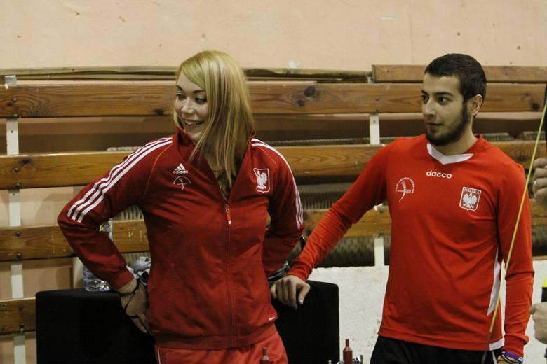 Milena Barakońska i Kasper Helbin z Obuwnika Prudnik.