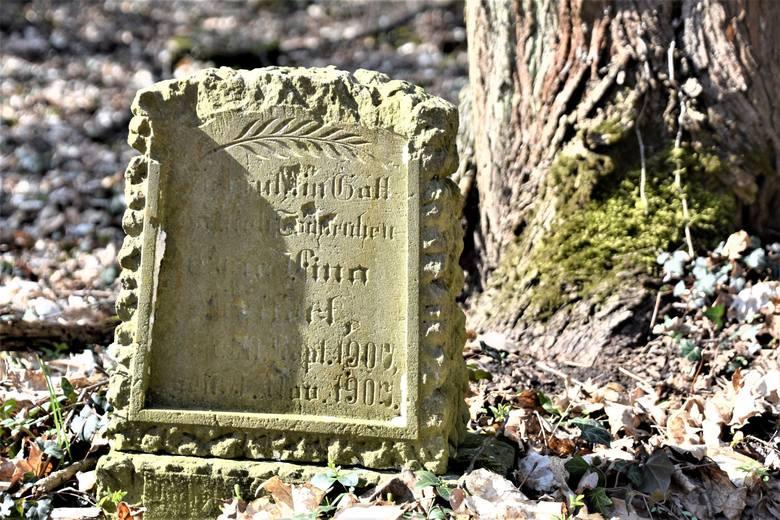 2019 rok. Cmentarz ewangelicki w Chwalimiu