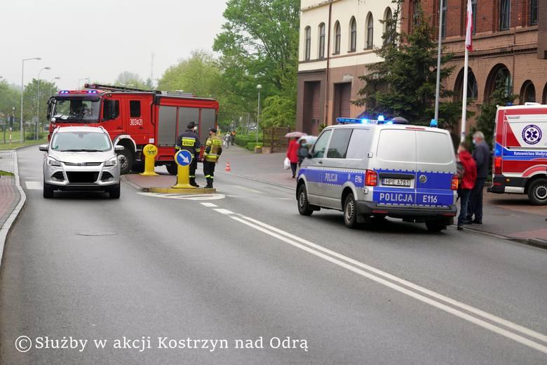Potrącenie na przejściu dla pieszych w Kostrzynie.