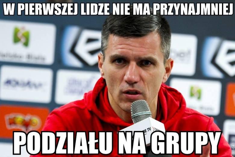 Memy po 36. kolejce: Peszko lubi golnąć w środę, Podbeskidzie uniknie podziału na grupy