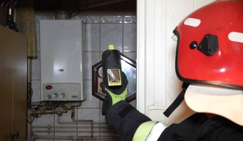 Trzy osoby zatruły się tlenkiem węgla w Tczewie