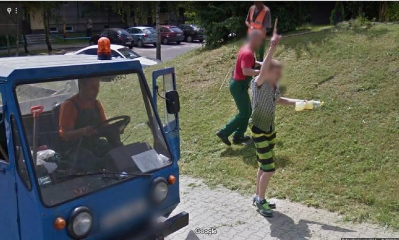 Google Street View to nie tylko mapy i możliwość nawigowania. Jest to również ogromna baza filmów i zdjęć. Zdjęć, na których widać m.in. Lubuszan niezdających